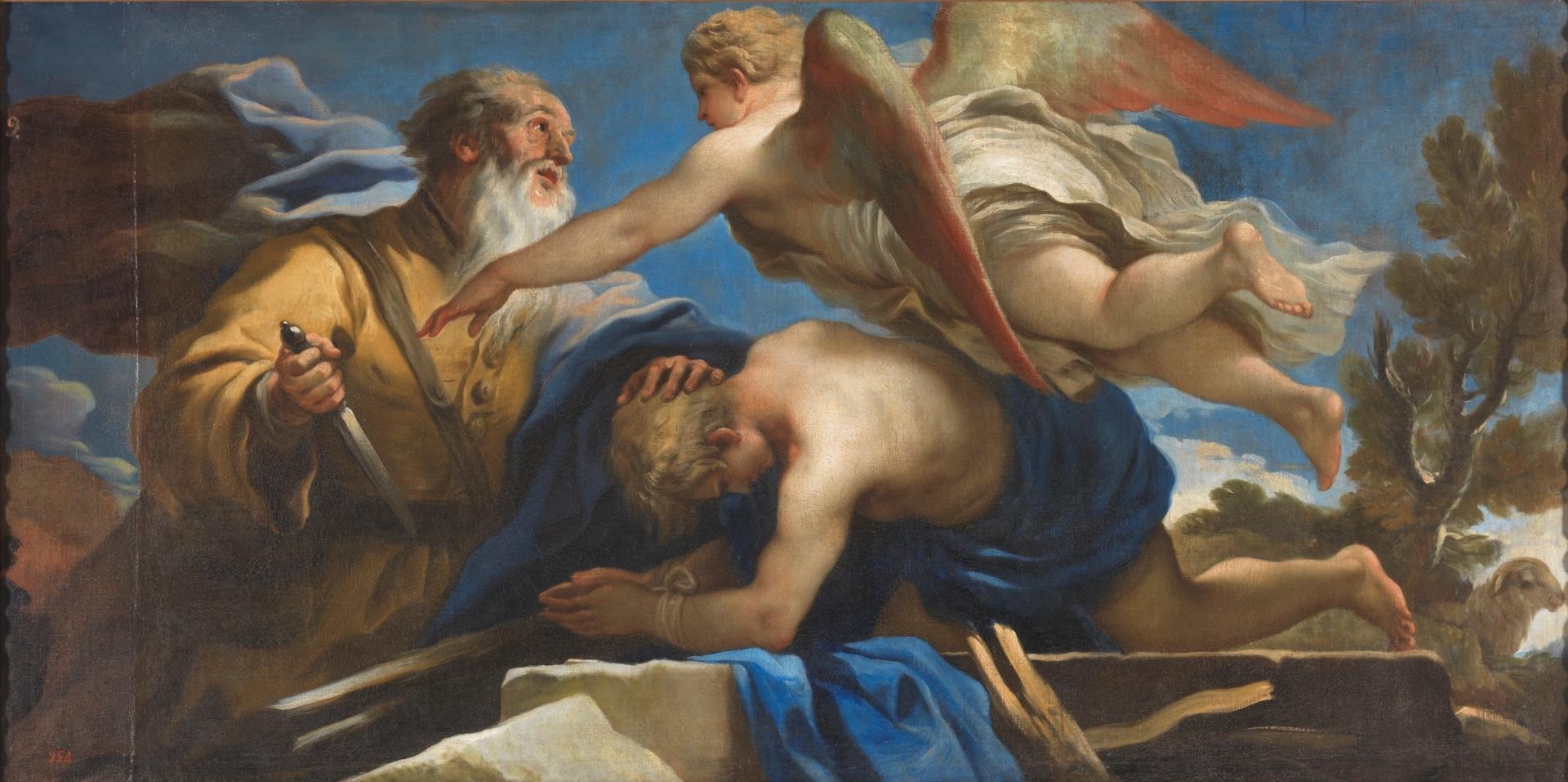 Abraham y el sacrificio de Isaac