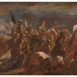 Rendición del ejército francés en la Batalla de San Quintín