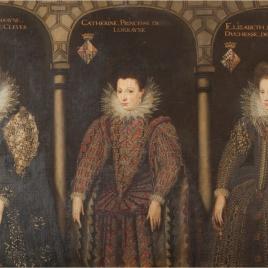 Antonieta de Lorena, duquesa de Clèves; Catalina, princesa de Lorena e Isabel de Lorena, duquesa de Baviera
