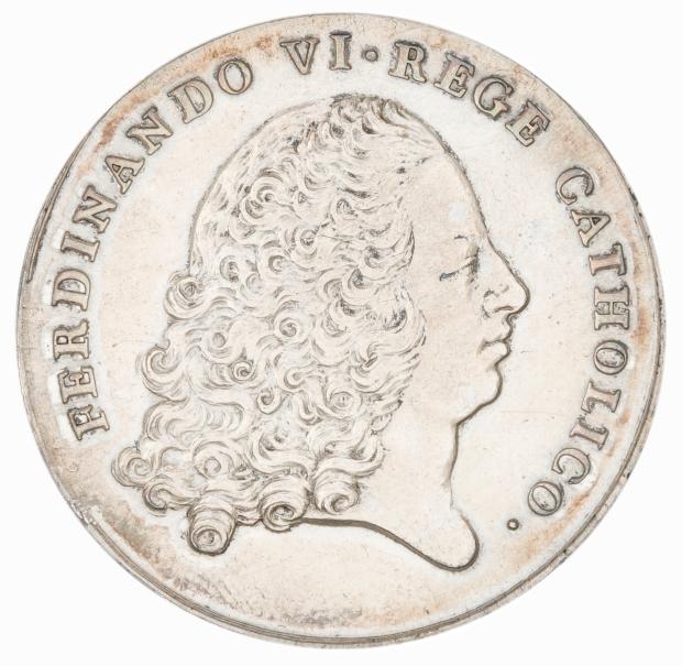 Advenimiento de Fernando VI al trono