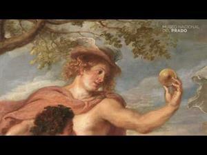 El juicio de Paris, de Rubens, con comentarios en latín