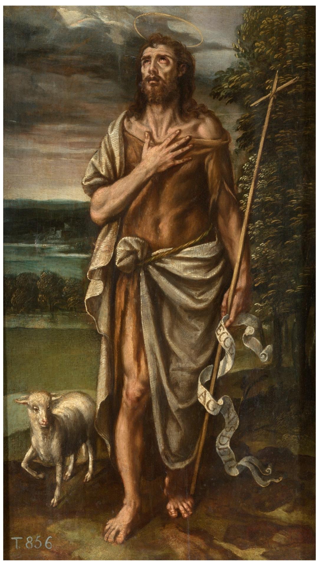 San Juan Bautista - Colección - Museo Nacional del Prado