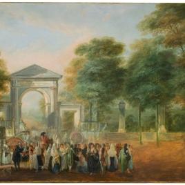 El Jardín Botánico desde el Paseo del Prado