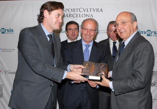 El Real Patronato del Museo premiado por Sport Cultura Barcelona