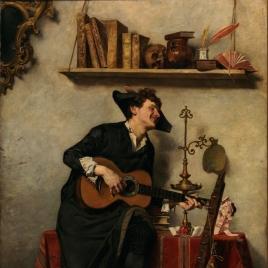 Un estudiante de Salamanca, siglo XVIII