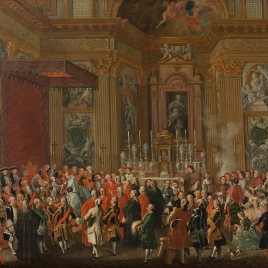 Jura de Fernando IV como rey de Nápoles
