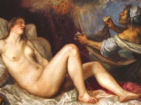 <em>Dánae recibiendo la lluvia de oro</em>, Vecellio Di Gregorio Tiziano, comentada por Jesús Rafael Soto