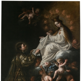 The Virgin of Mercy Appearing to Saint Peter Nolasco