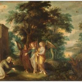 Abraham y los tres ángeles