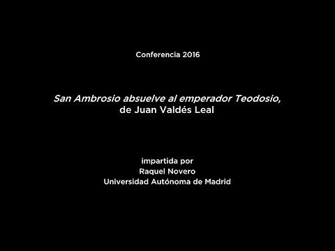 Conferencia: San Ambrosio absuelve al emperador Teodosio, de Juan Valdés Leal