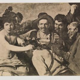 Los borrachos, o El triunfo de Baco (detalle)