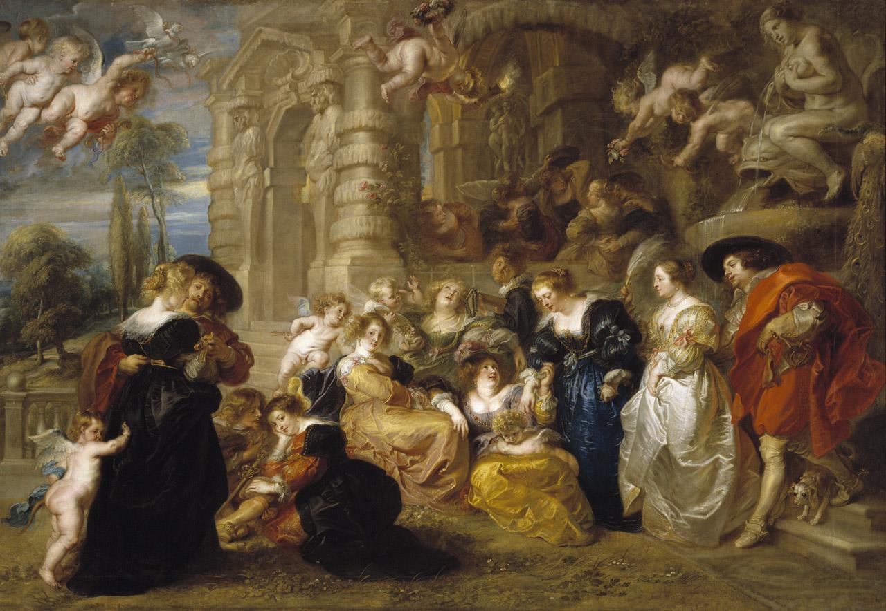 Jardín del amor, El [Rubens] - Museo Nacional del Prado