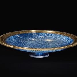 Salver of lapis lazuli