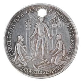 Ayuntamiento de Valencia a Carlos III en el nacimiento de sus nietos los infantes gemelos Carlos y Felipe, y por la Paz firmada con Gran Bretaña