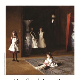 Un reflejo de Las Meninas [Material gráfico] : obra invitada hasta el 30 de mayo. John Singer Sargent. Las hijas de Edward Darley Boit en el Museo del Prado.