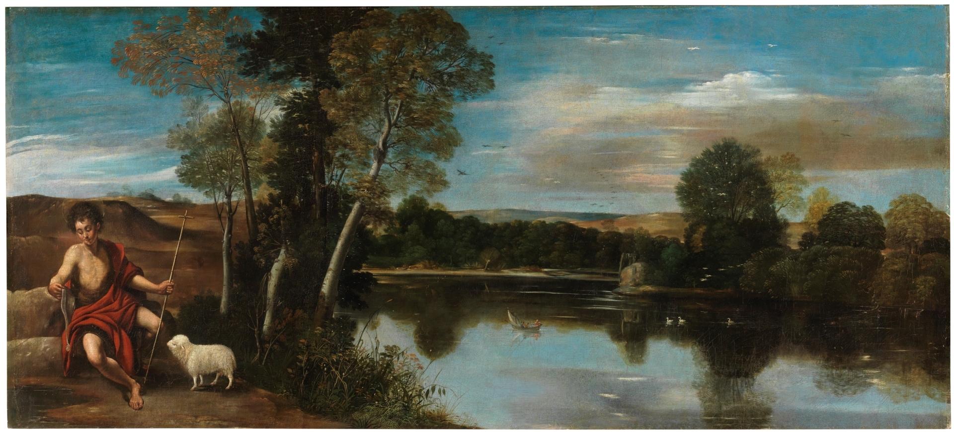 San Juan Bautista en un paisaje - Colección - Museo Nacional del Prado