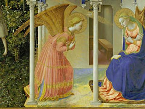 <em>La Anunciación</em>, Fra Angélico, comentada por José Corredor Matheos