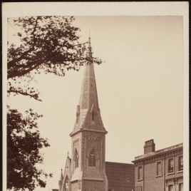 Exterior de la Iglesia congregacional en Surbiton