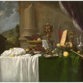 Table with Desserts