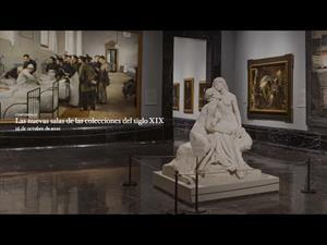 Las nuevas salas de las colecciones del siglo XIX