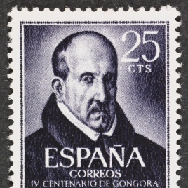 Serie de sellos IV Centenario del nacimiento de Luis de Góngora y Argote