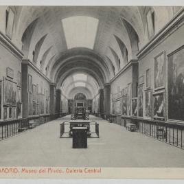 Museo del Prado, vista de la Galería Central