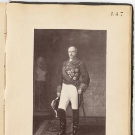 El capitán general Francisco Serrano, I duque de la Torre