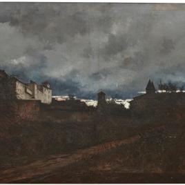 Impresión de la lluvia (Toledo)