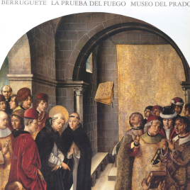 Berruguete [Material grafíco] : la prueba del fuego / Museo Nacional del Prado.