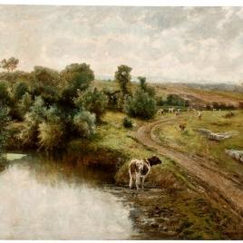 Un paisaje de Bretaña