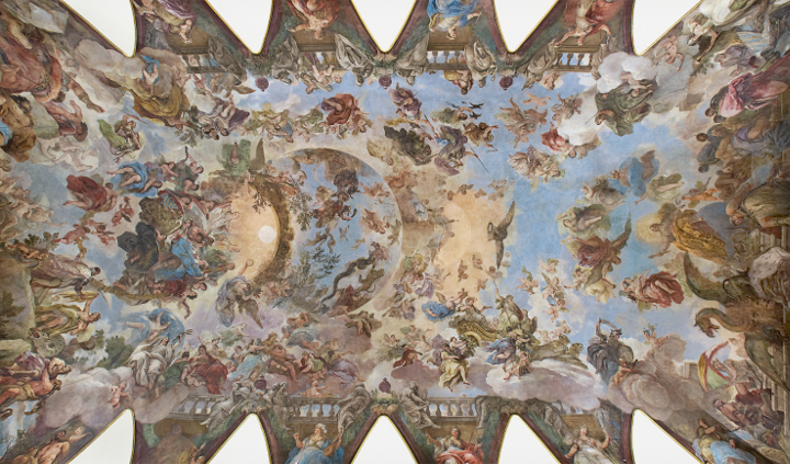 Visitas guiadas a la Bóveda de Luca Giordano en el Casón del Buen Retiro