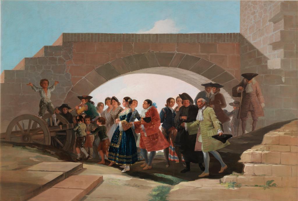 """El Museo del Prado y la Fundación AXA presentan """"Goya en Madrid""""."""