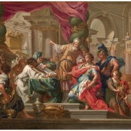 Alejandro Magno en el Templo de Jerusalén