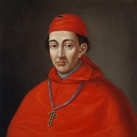 El cardenal Gil Álvarez Carrillo de Albornoz, arzobispo de Toledo (copia)