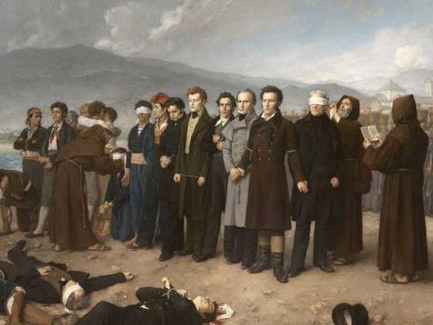 Una pintura para una nación. <em>El fusilamiento de Torrijos</em>