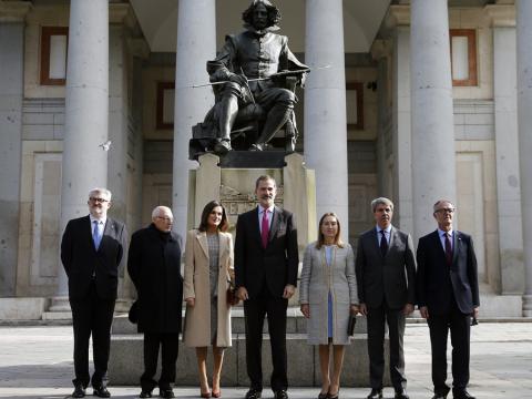 Los Reyes de España asisten al acto de inauguración del Bicentenario del Museo del Prado