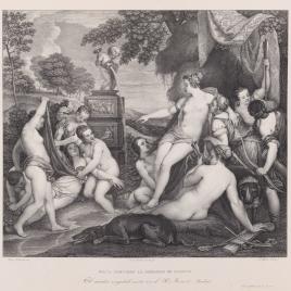 Diana descubre la falta de Calisto