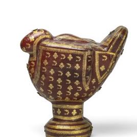 Estuche para vaso en forma de gallo