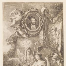 Alegoría de Hernán Cortés