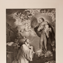 The Apparition of the Virgin to Saint Bernard