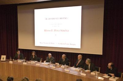 Presentación del libro de homenaje a Alfonso Pérez Sánchez