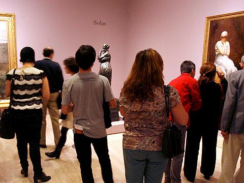 El arte se populariza en la Noche de los Museos