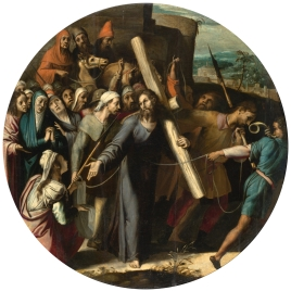 Christ on the Way to Calvary