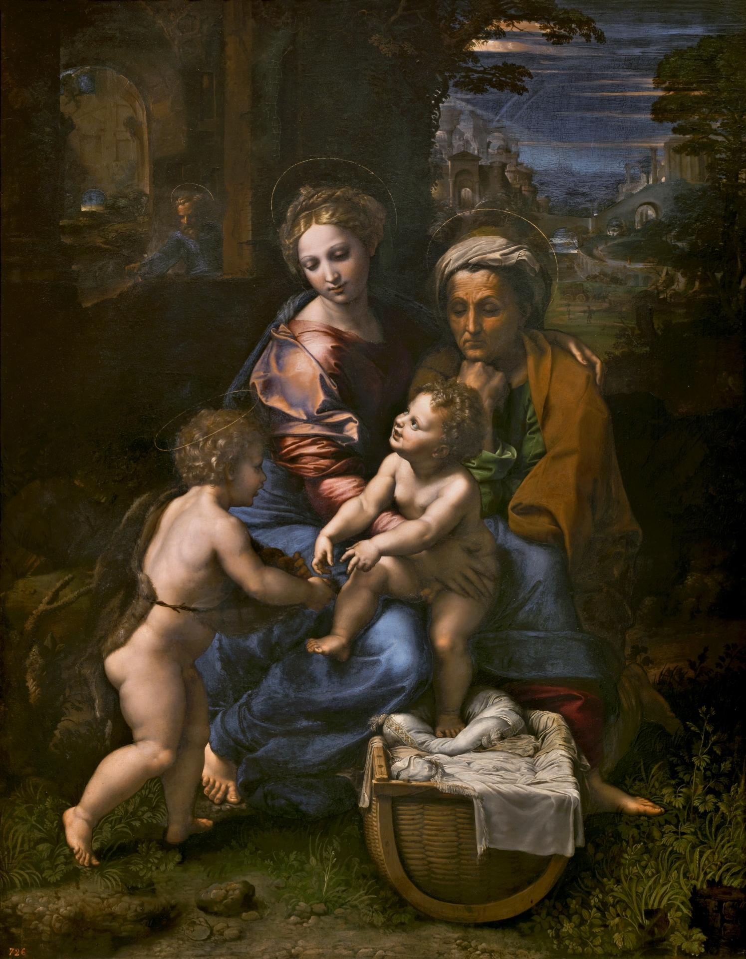 Resultado de imagen de la perla pintura Rafael Sanzio