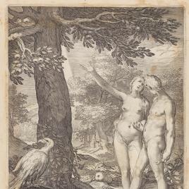 Adán y Eva ante el Árbol de la Ciencia