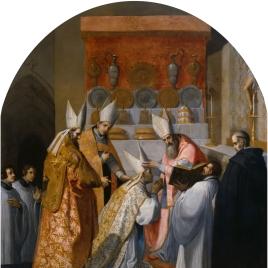 El papa Alejandro III consagra a Antelmo de Chignin como obispo de Belley