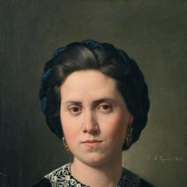 Ana Hiráldez Bruna, esposa del pintor
