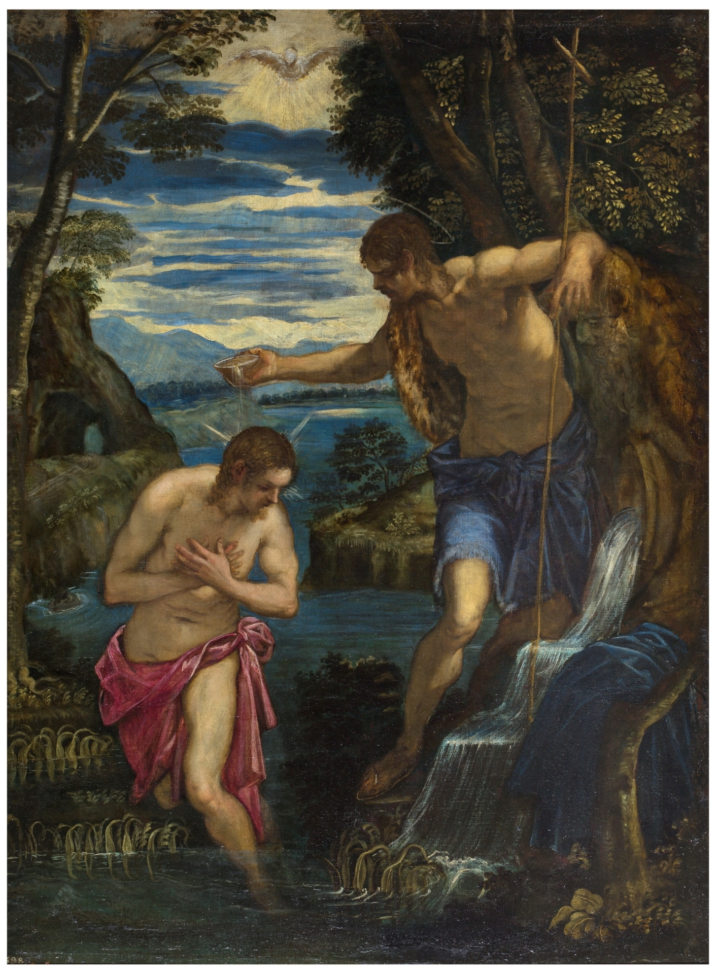 Bautismo de Cristo - Colección - Museo Nacional del Prado