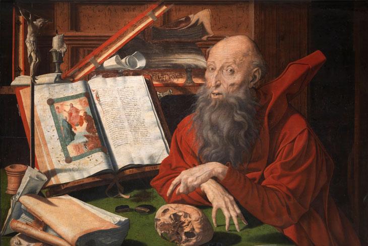 San Jerónimo, de Marinus van Reymerswaele