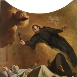 Aparición de san Francisco de Regis a la madre Momplaisant
